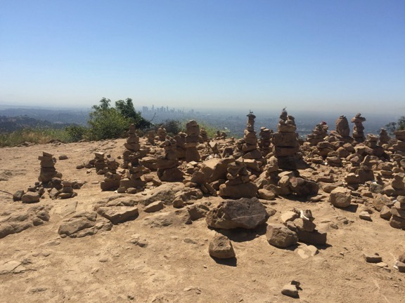 The stacked rocks, see if you can make one!