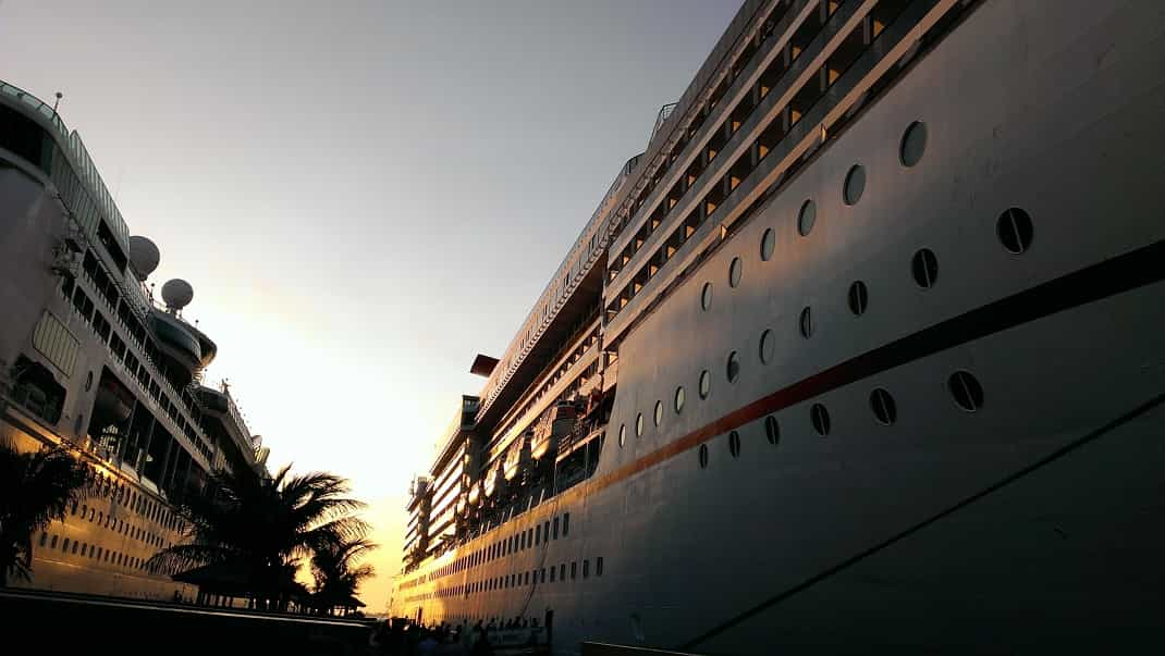 Enjoy your first cruise trip!