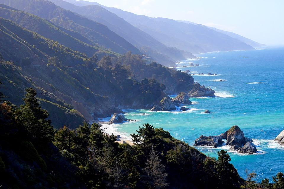 Big Sur Coastline via domcarver