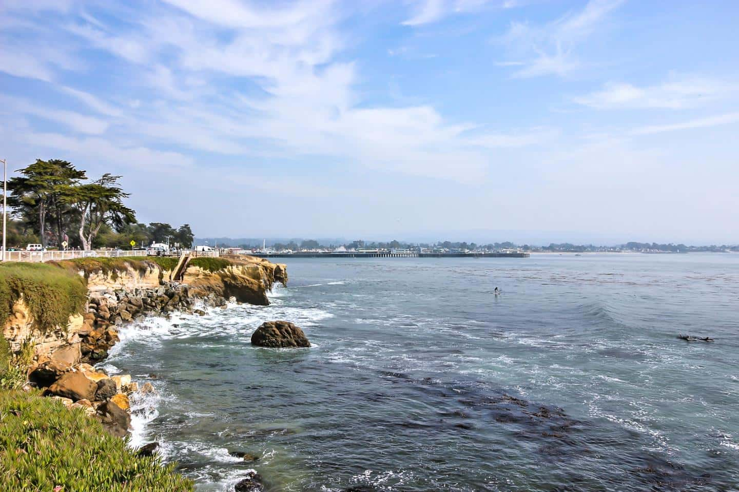 Visiting West Cliff Drive is one of the best things to do in Santa Cruz