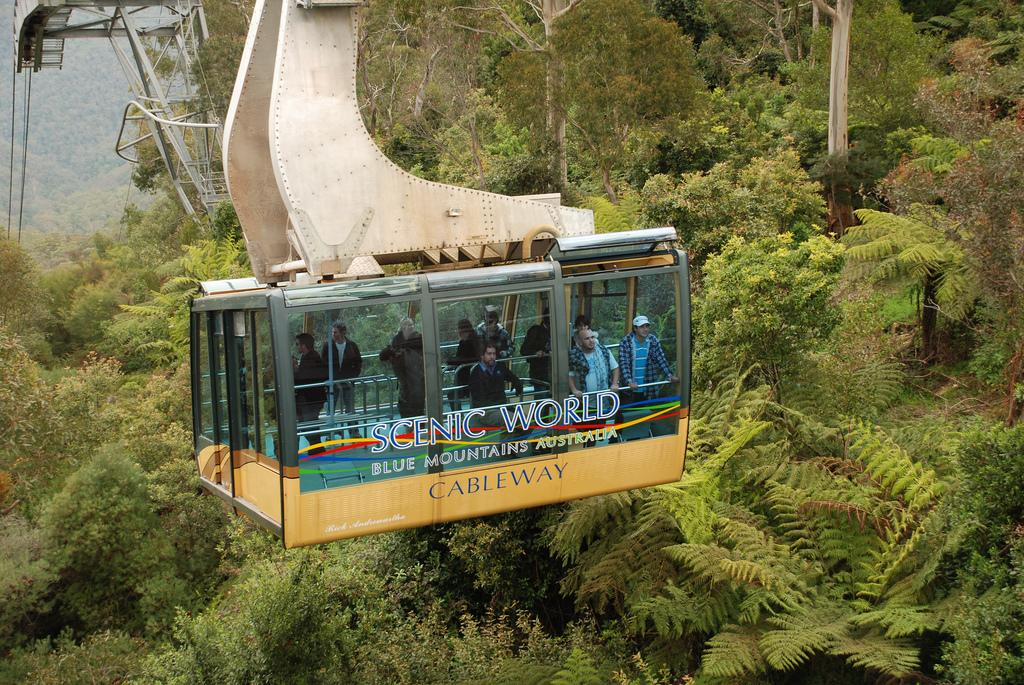 Tour in the Blue Mountains of Australia ( flickr )