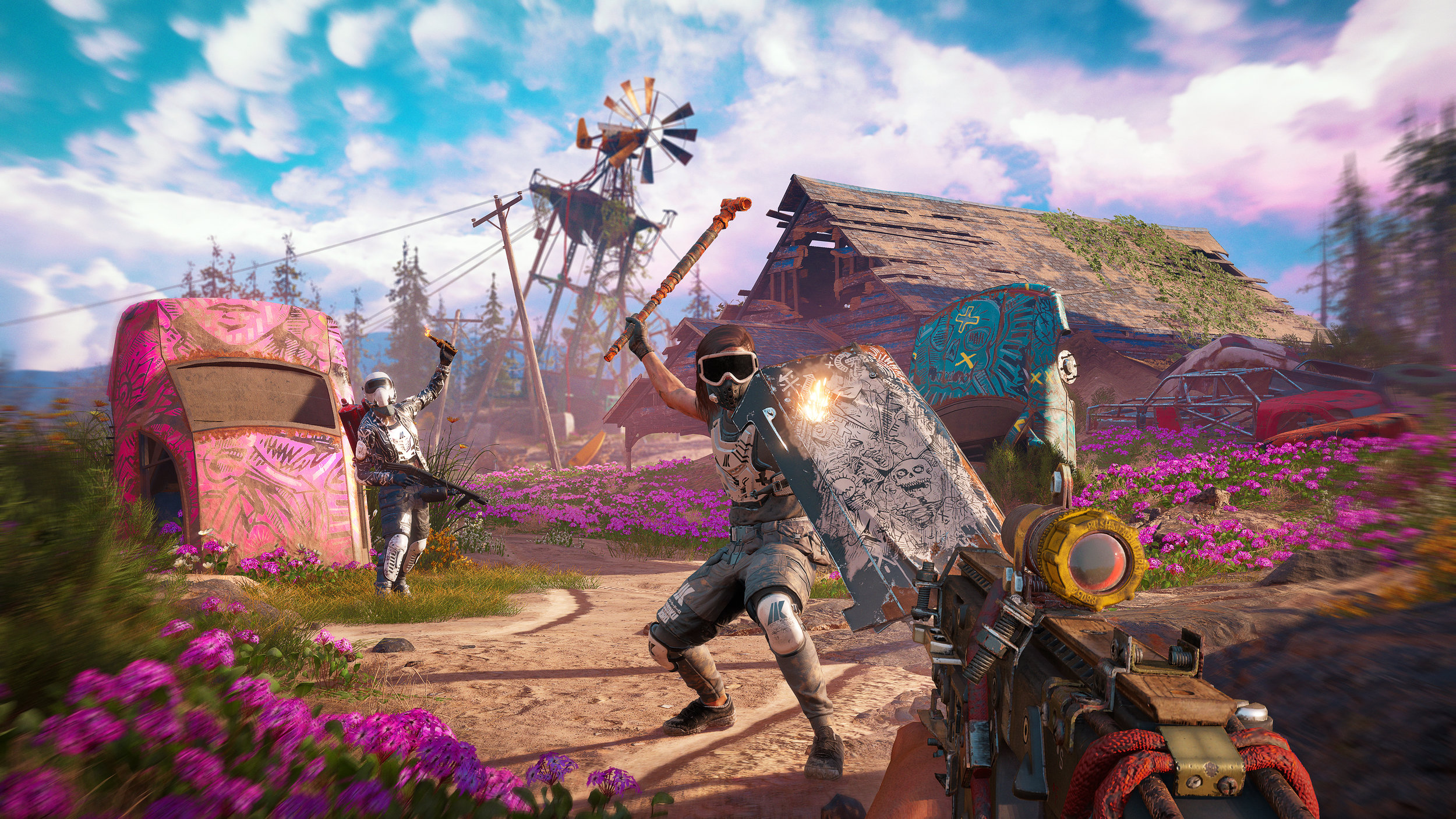 Far Cry New Dawn Outpost