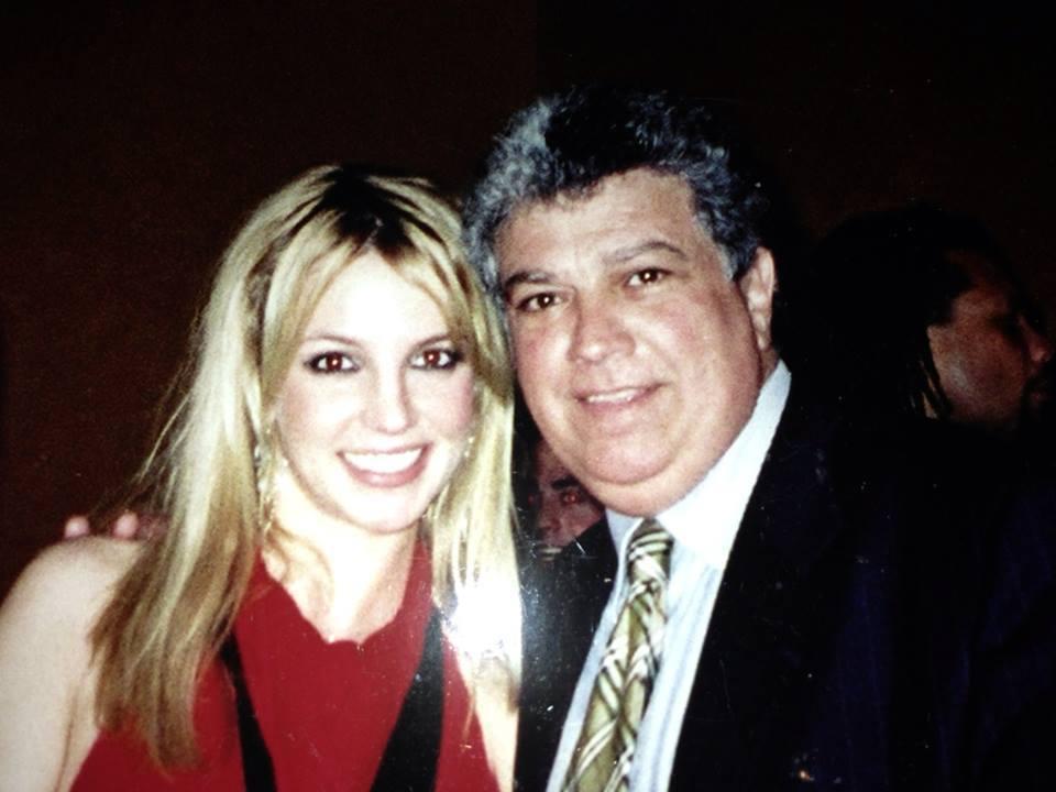 Michel Bittan and Brittney Spears