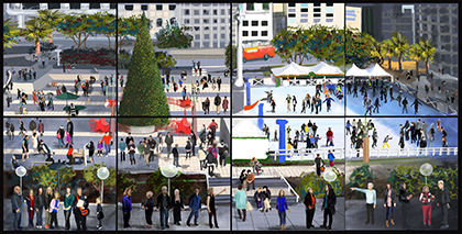 Union Square SF Cityscape