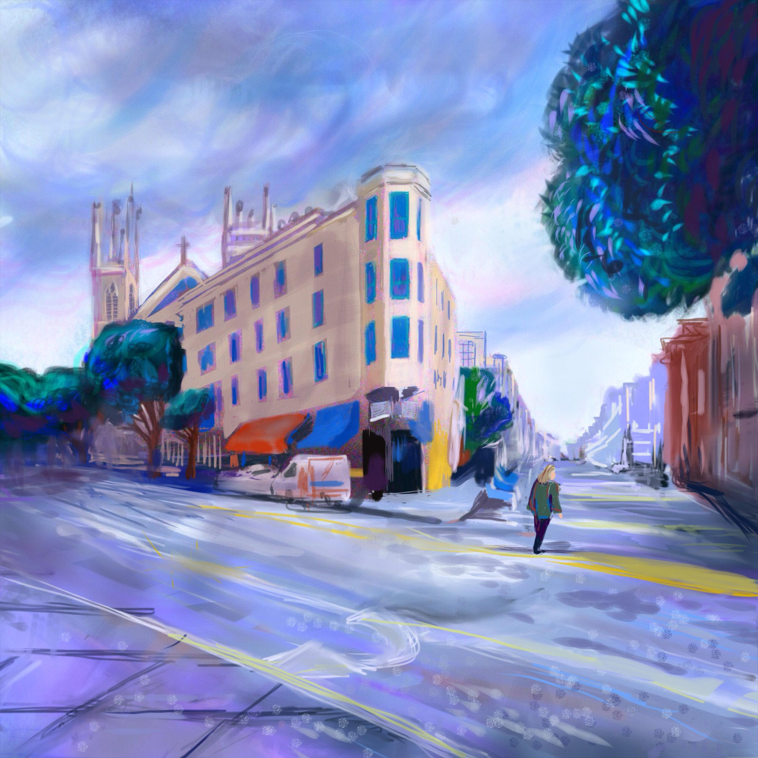 North Beach Street Scene, SF