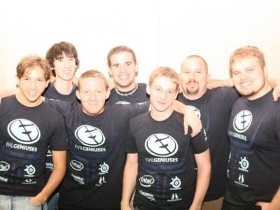 Evil Geniuses StarCraft 2 squad, circa 2007
