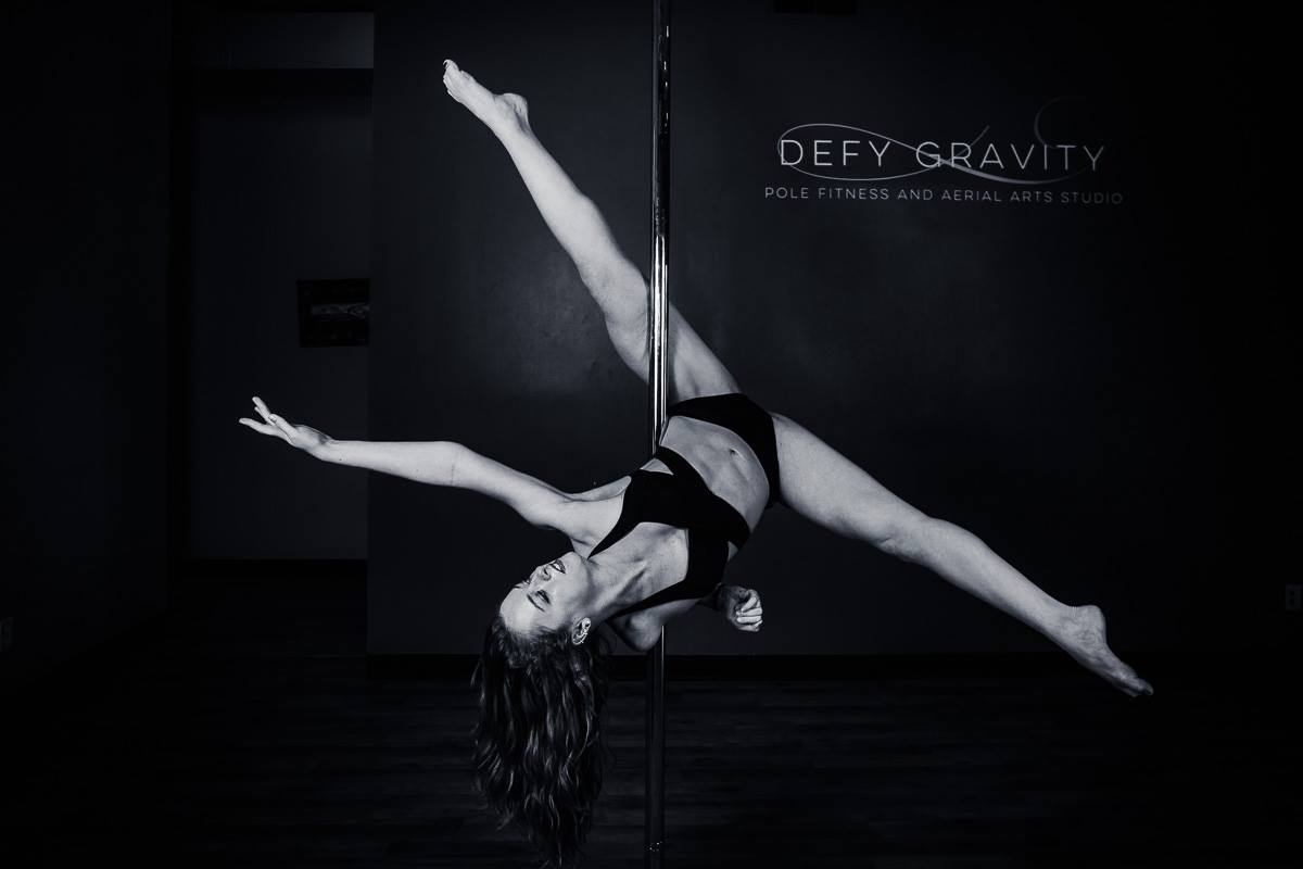 Defy Gravity Pole Showcases