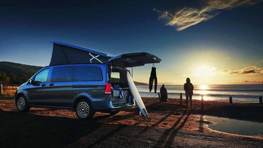 The Mercedes-Benz Marco Polo Activity is the perfect Mercedes-Benz Campervan when surfing