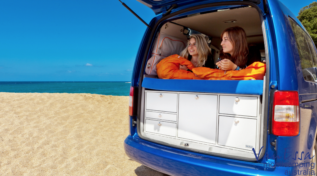 The Volkswagen Caddy makes a perfect Campervan for one or two people