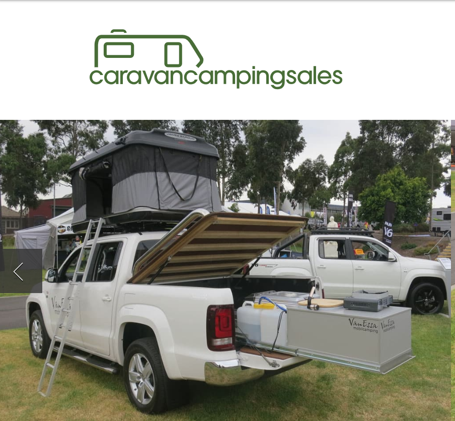 Amarok woody for Outback fashionistas - Funky, flexible camp modules from German company VanEssa Mobilcamping now available Down Under