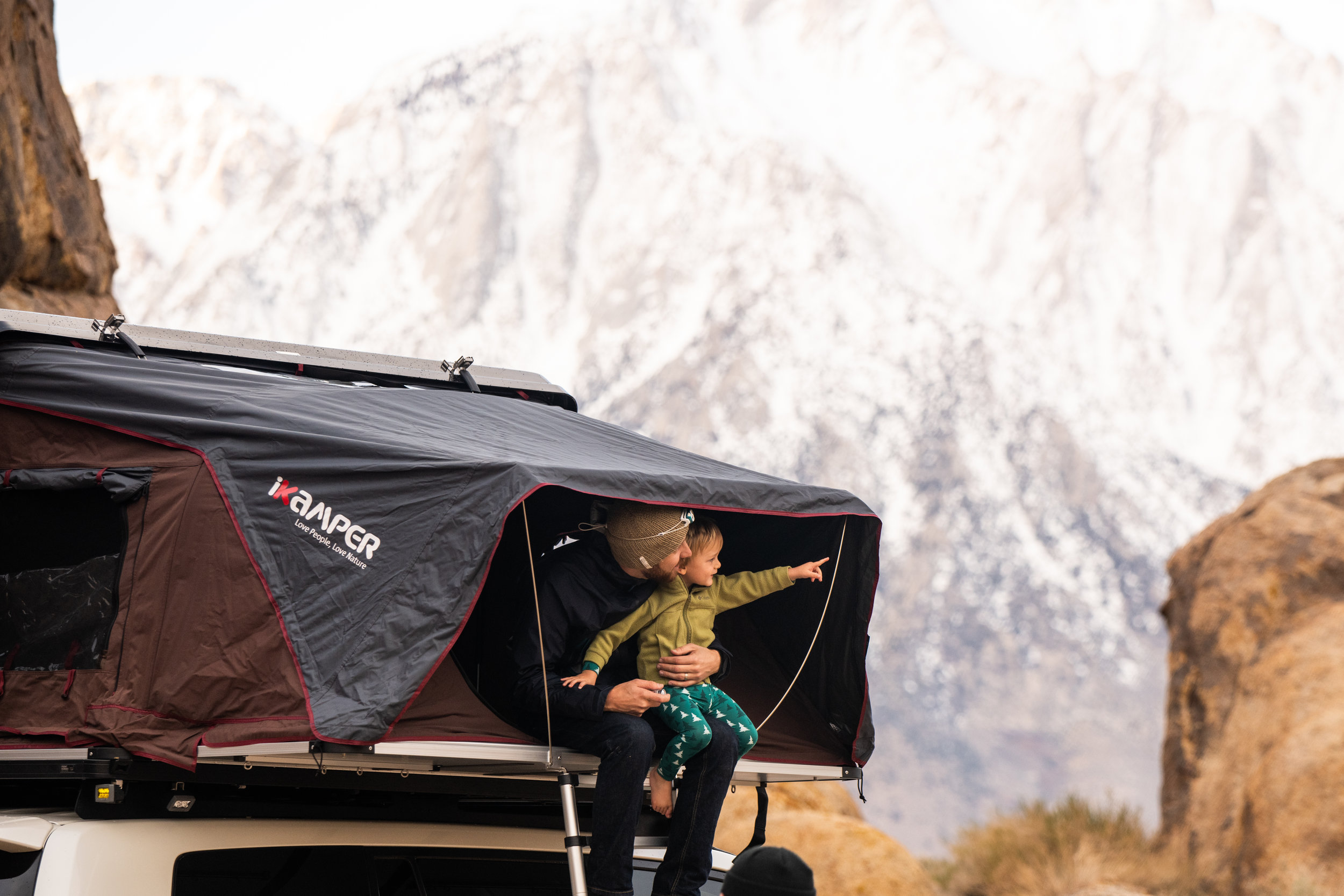 iKamper Skycamp - Travelling with friends and family is possible with the addition of the 'SkyCamp Suite' from iKamper.