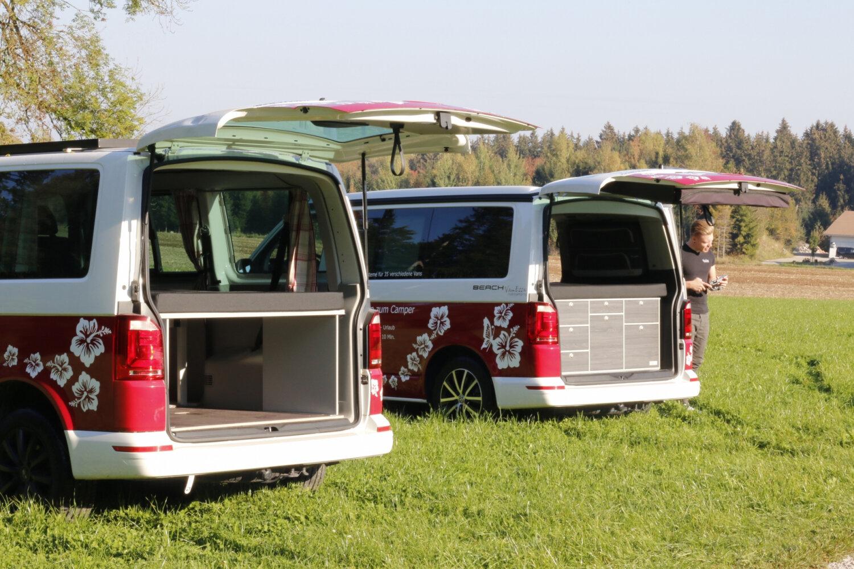 Frankana Freiko Busvorzelt Travel Extra 340 x 240 cm VW T5 und T6