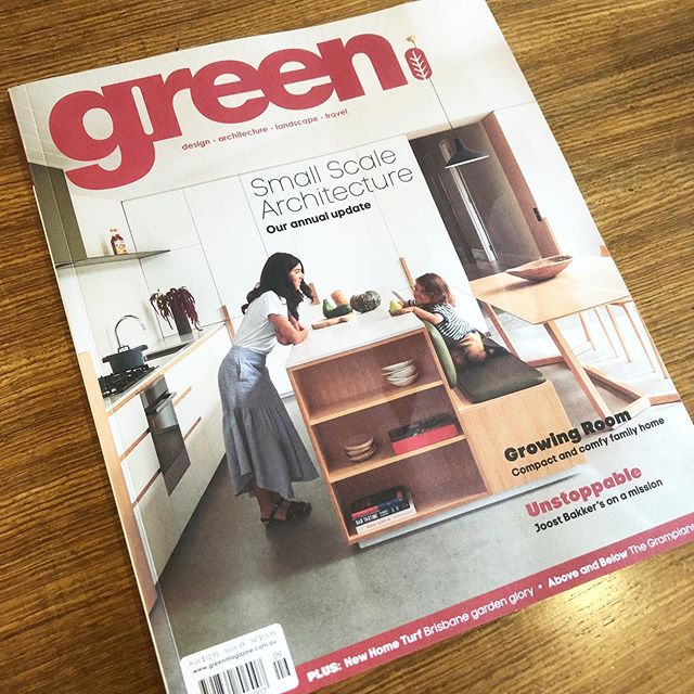 Quality materials and sustainability is really important to us. Shout out to @greenmagazine for a great issue - we hope you're all reading it! Catch us in the Design Book at the back and online at green magazine.com.au - a great resource for local and sustainable products - check it out! . . #sustainabledesign #lightingdesign #linearlighting #linearpendant #australiandesign #australianlighting #architectuallighting