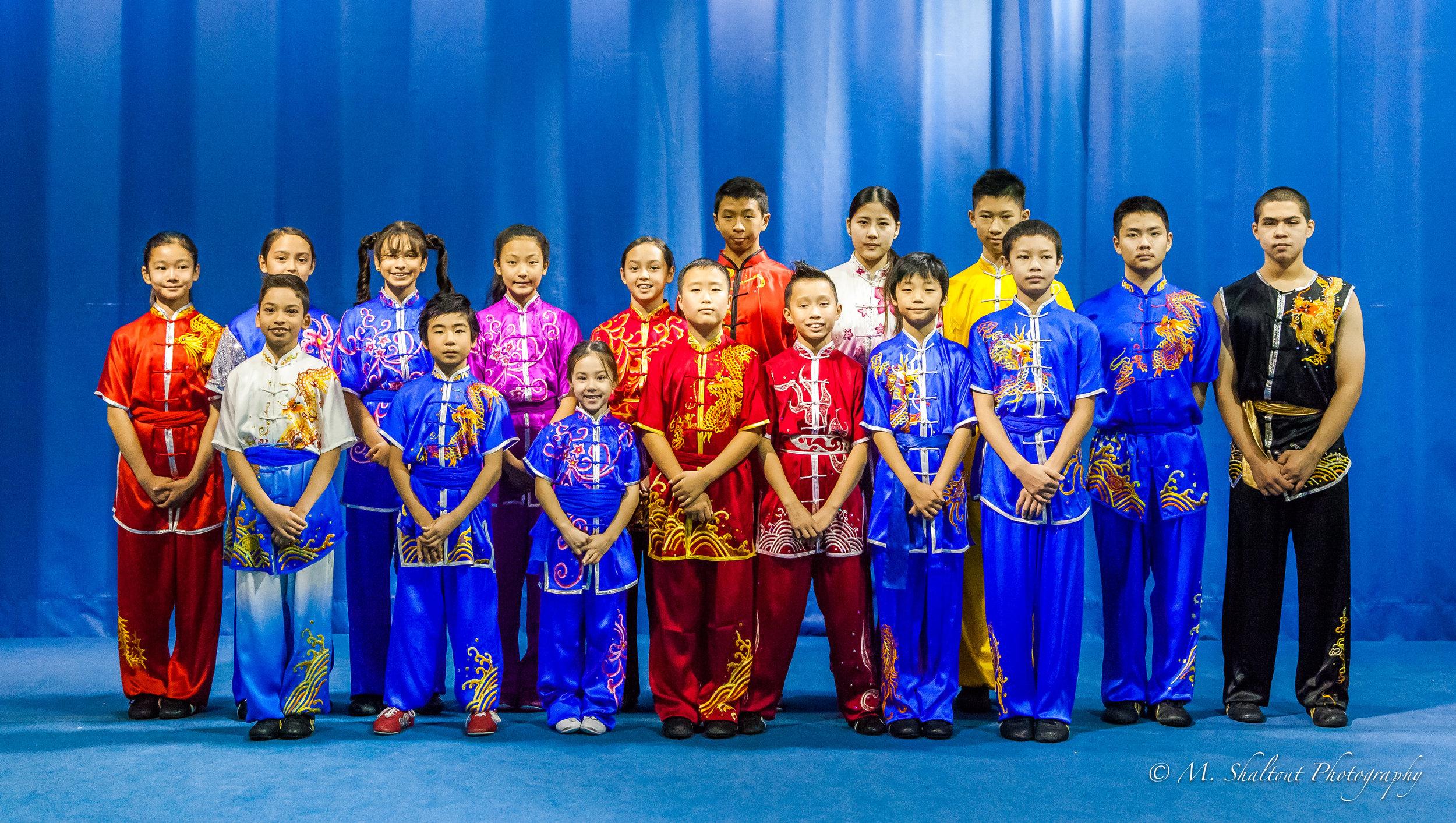 The 2016 Wayland Li competition team.
