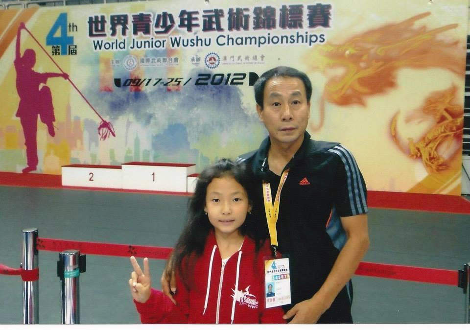 Erica and Master Li.