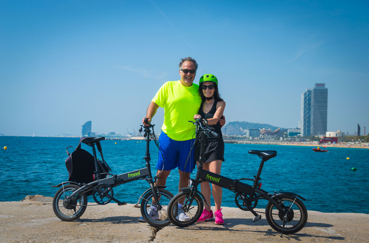 Photo Bike Tour Barcelona