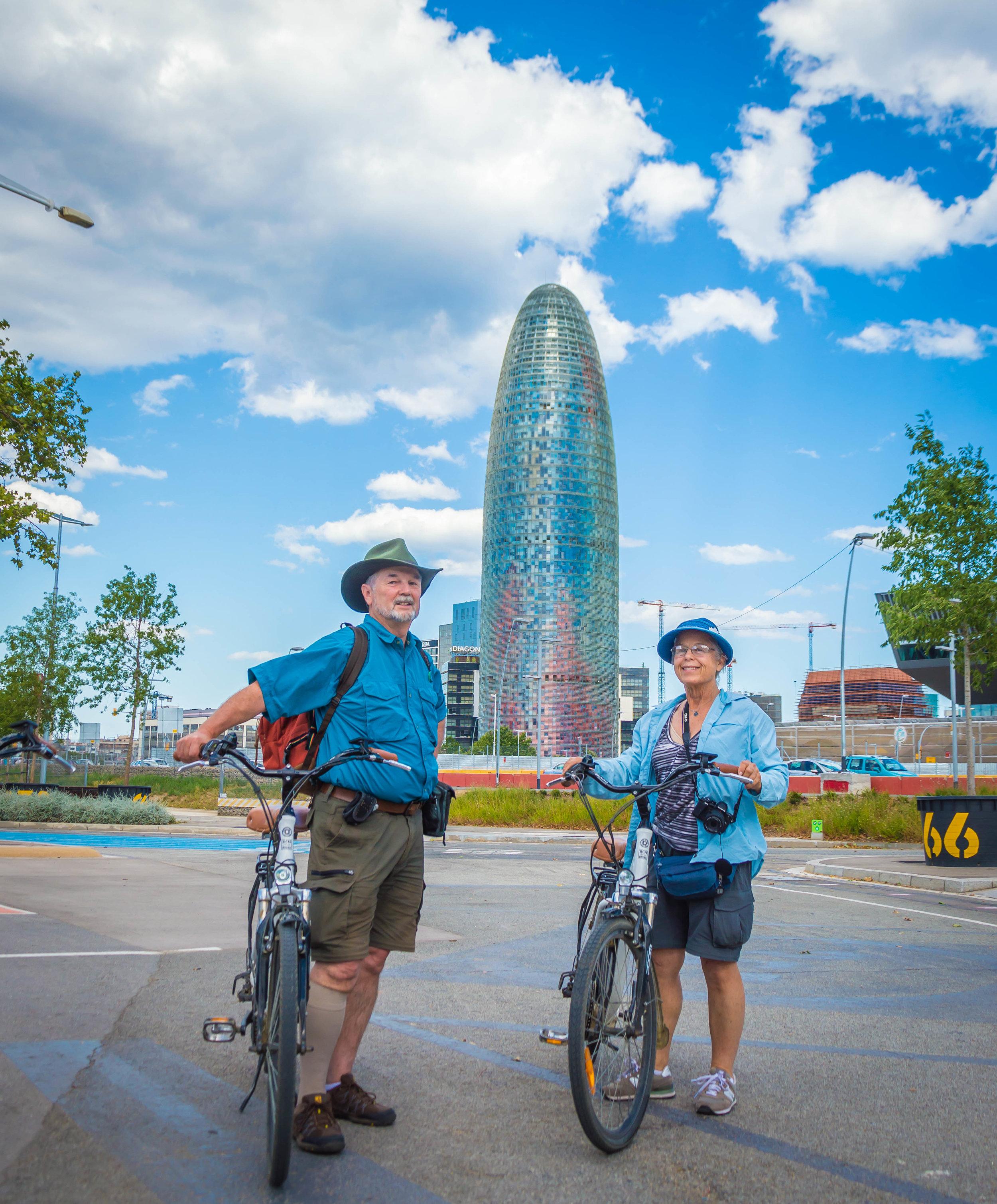 tour bici eléctrica en Barcelona