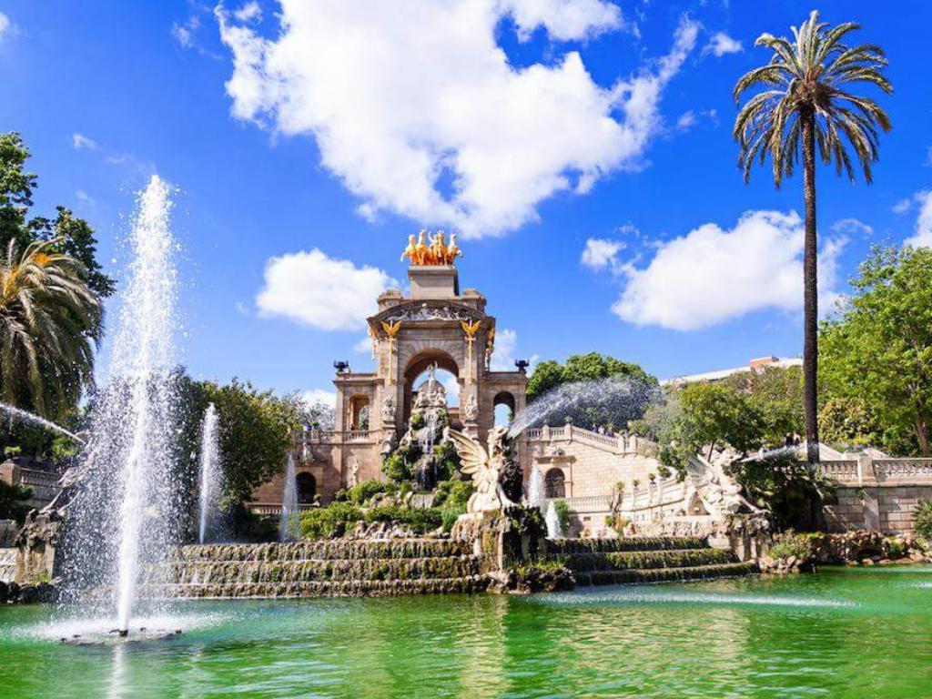 parc ciutadella barcelona gardens