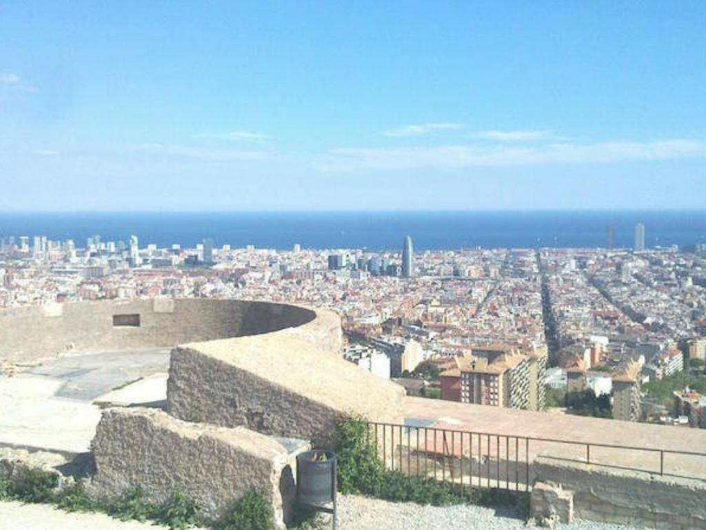 barcelona views bunkers