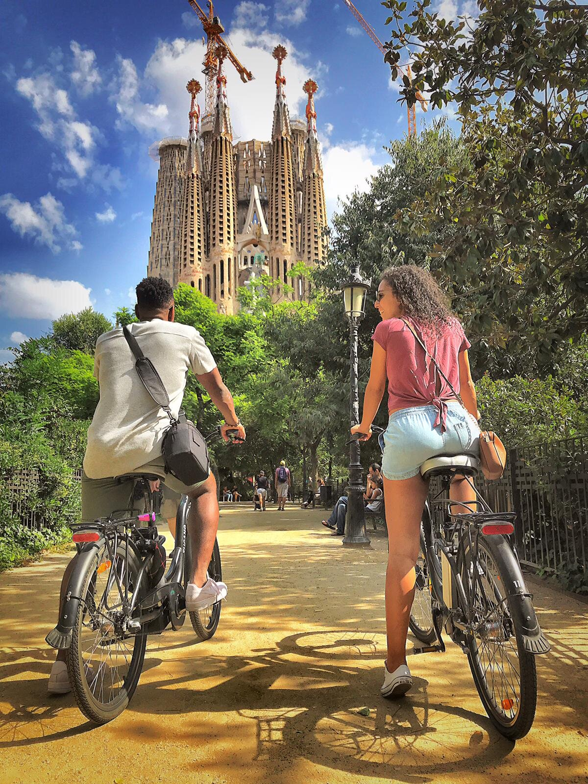 electric bike tour Barcelona