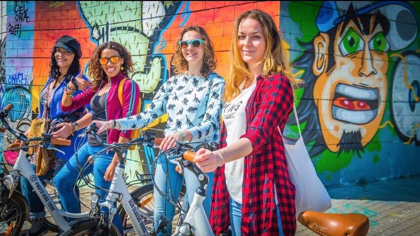 tour bici electrica Barcelona