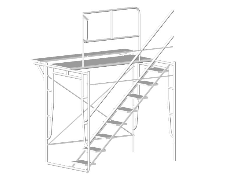 階段 - サイズ(mm)L=1829W=1219、914H=1725