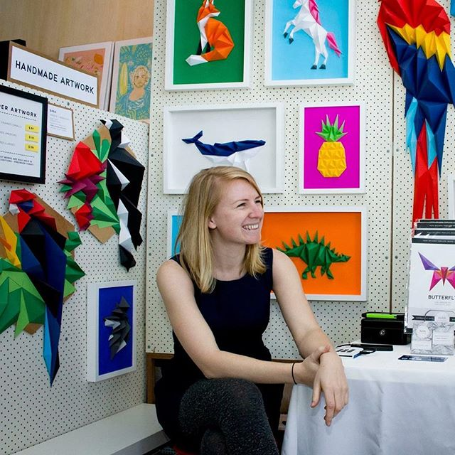 Looking forwards to the next @showandtellmarket in Canberra at the wonderful @belconnenartscentre this November! Had such a great day at this brand new #CBR event amongst some super creative and crafty folks, and can't wait for the next. Mid-laugh awkward stallholder shot by Louis Jaccoud 😜