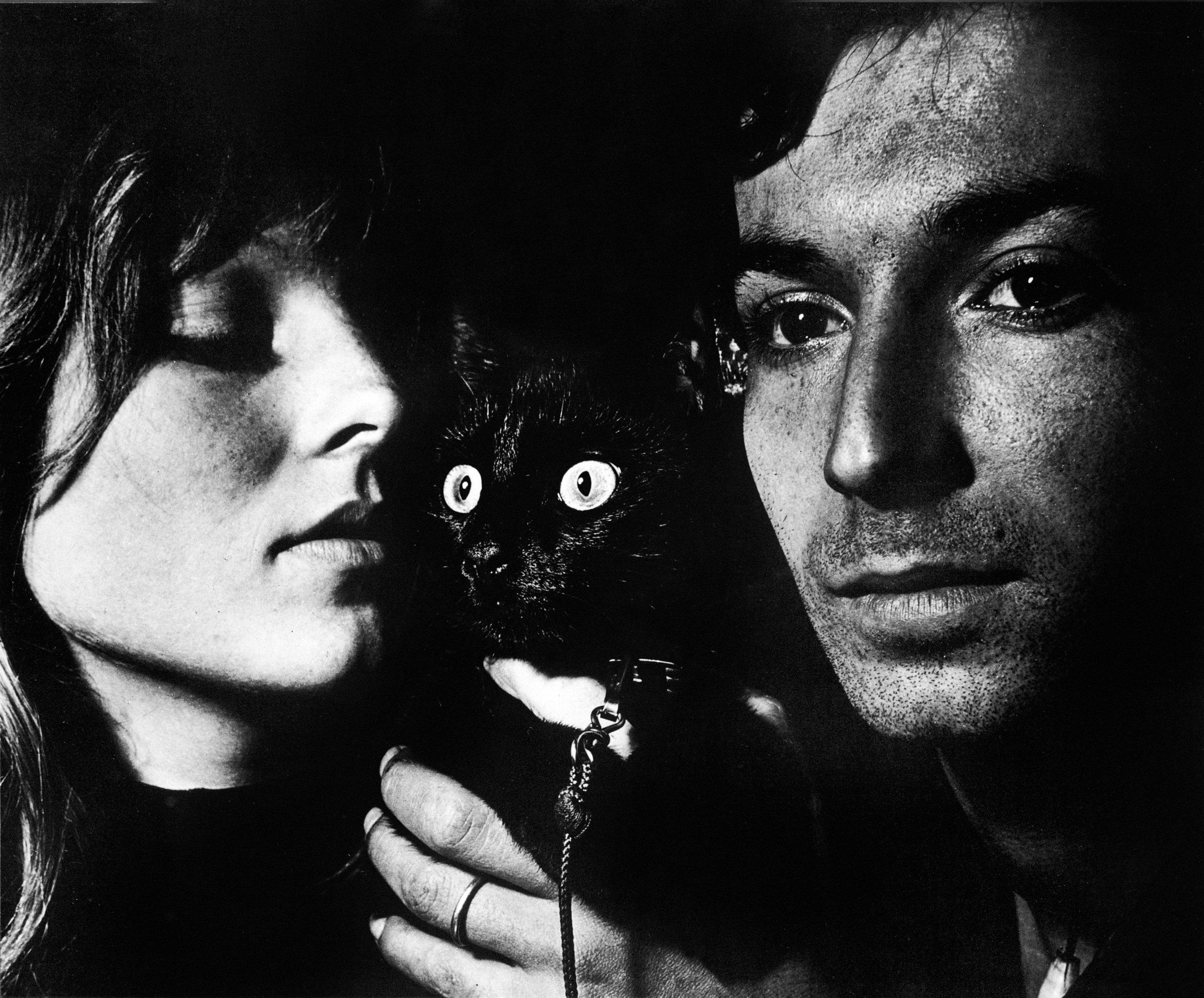 Autoportrait avec Aya Kando, Sèvres, France, 1953 © Ed van der Elsken / Nederlands Fotomuseum, courtesy Annet Gelink Gallery & Folia Gallery, Paris.