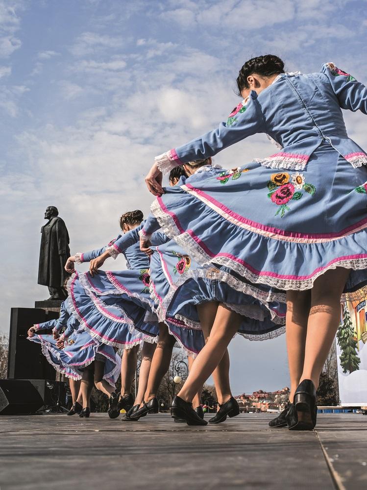 À la fête de Maslenitsa  © Vincent Perez