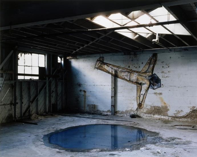 Georges Rousse, La Jolla , 1984 © Georges Rousse, ADAGP, 2018. Collection Maison Européenne de la Photographie, Paris.
