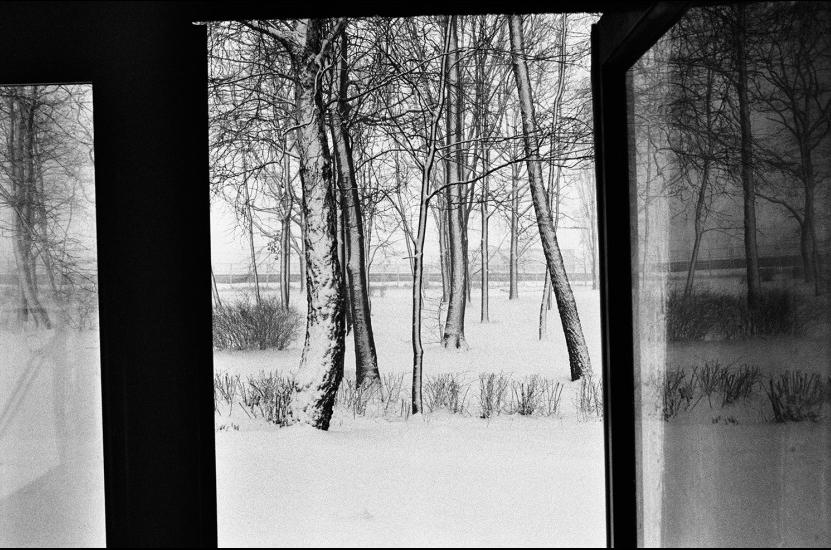 Klavdij Sluban, Pologne , 2005, Série « Transsibériades » © Klavdij Sluban, courtesy galerie Klüser, Munich. Collection Maison Européenne de la Photographie, Paris.