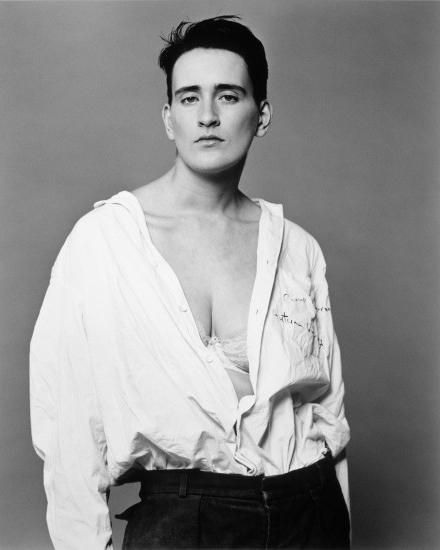 ©Bettina Rheims, Martine, Londres, 1989, Série « Modern Lovers » © Bettina Rheims. Collection Maison Européenne de la Photographie, Paris.