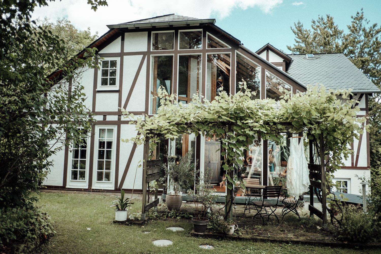 Traumhaftes Fachwerkhaus des Hochzeitspaares in Burbach