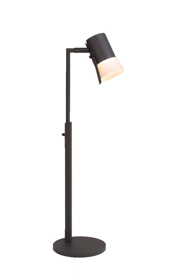 Bezzy bordlampa, mörkgrå