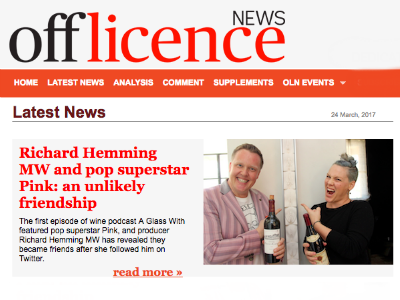 Off Licence News,  24 March 2017