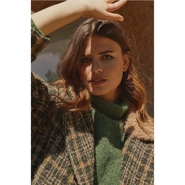 Green Green 🌿🍃 . . . #diega #fallwinter2019 #coat #green #newcollection #frenchbrand