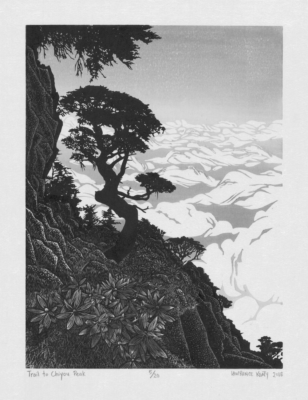 Trail to Chiyou Peak