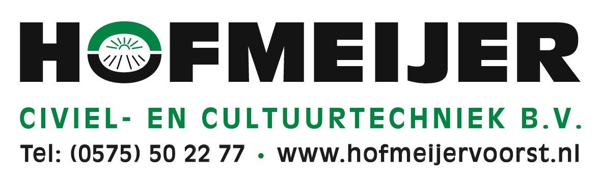 Hofmeijer Civiel- en Cultuurtechniek is een bedrijf dat zich in de breedte richt op alle voorkomende werkzaamheden binnen de vakgebieden van de sport en recreatie, cultuurtechniek, grondverzet en civiele techniek.