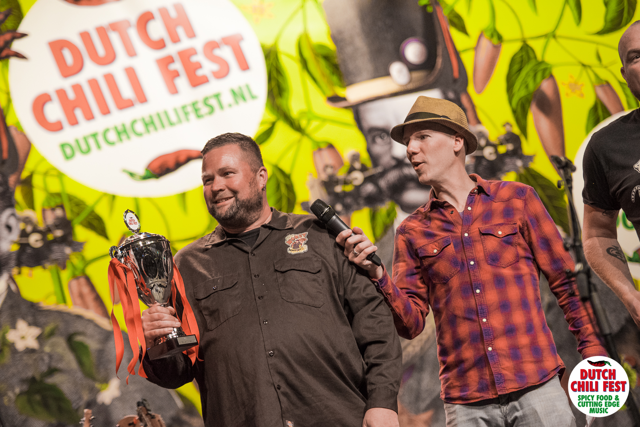 """Non de Dju hete Sauce"" van Dr. Worst (winner Dutch Chili Award 2017)"