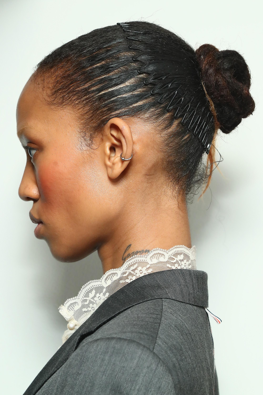 black girl zig zag headband