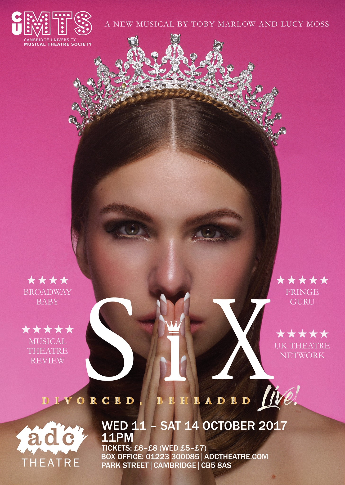 six the musical flyer 2017