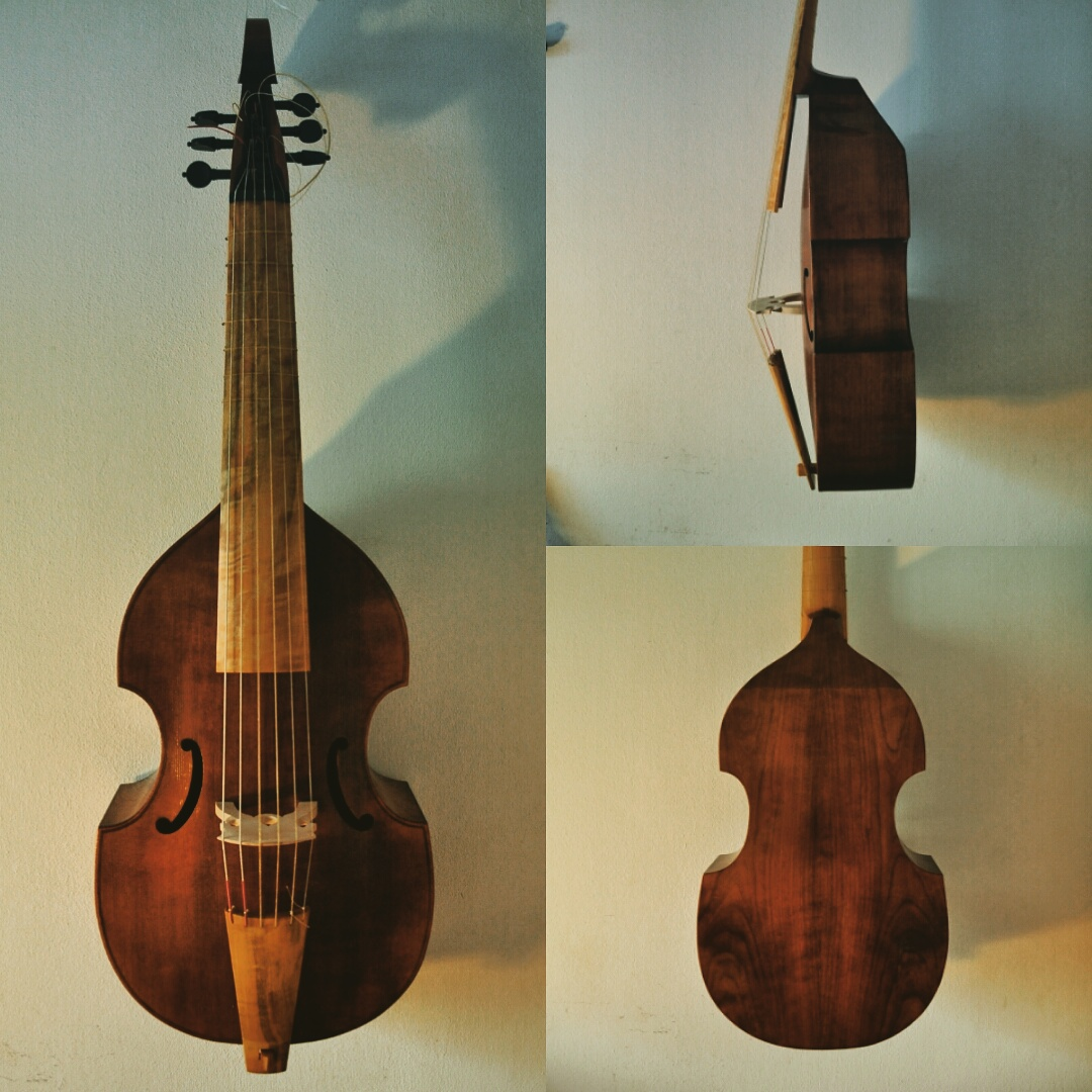 John Rose Tenor Viol  54cm string length  €1950 plus strings - STUDENT MODEL