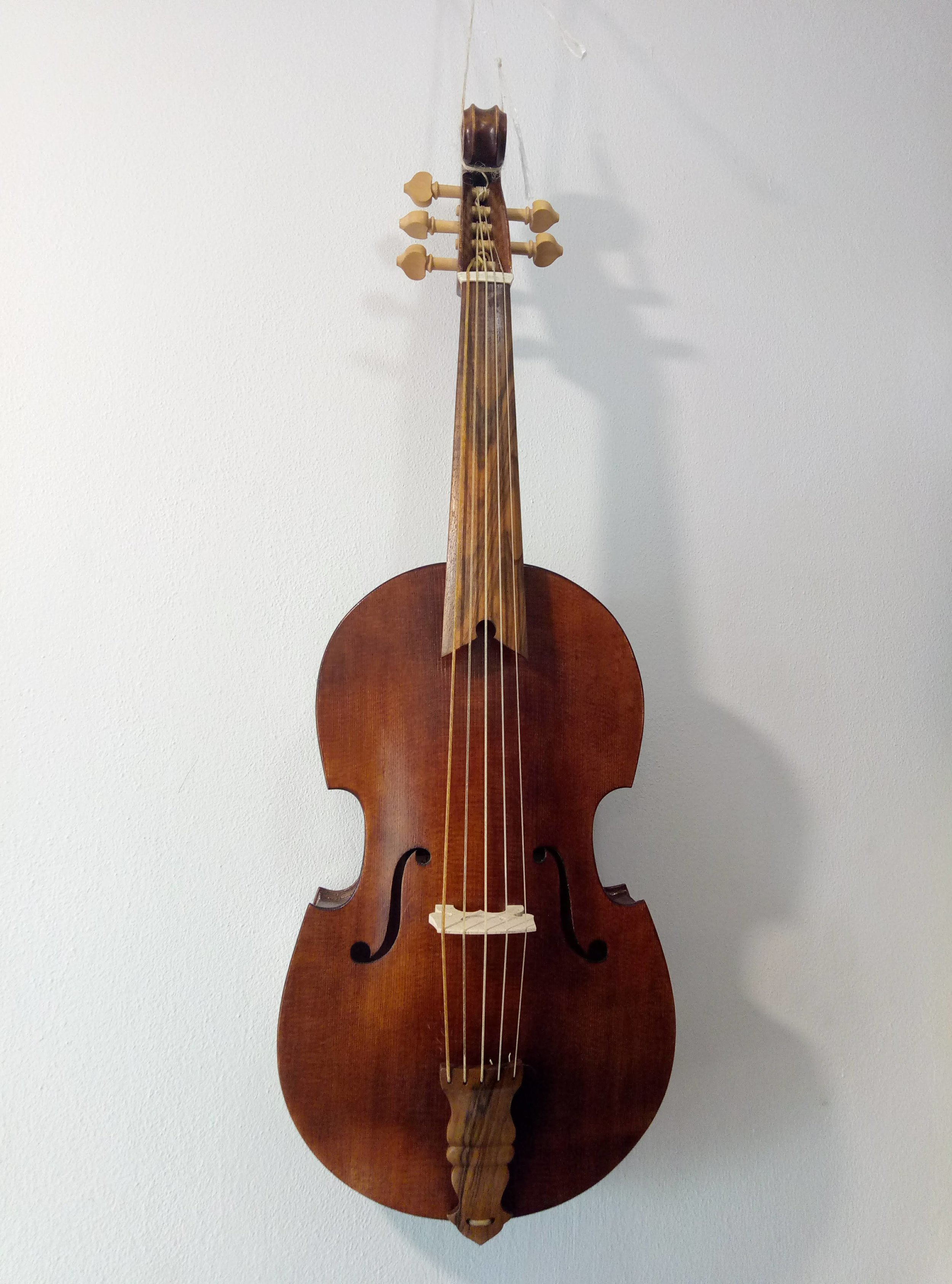 Anonyomous Master of Brescia Viola  39cm string length Can also be set up as a treble viol  €1800 plus strings