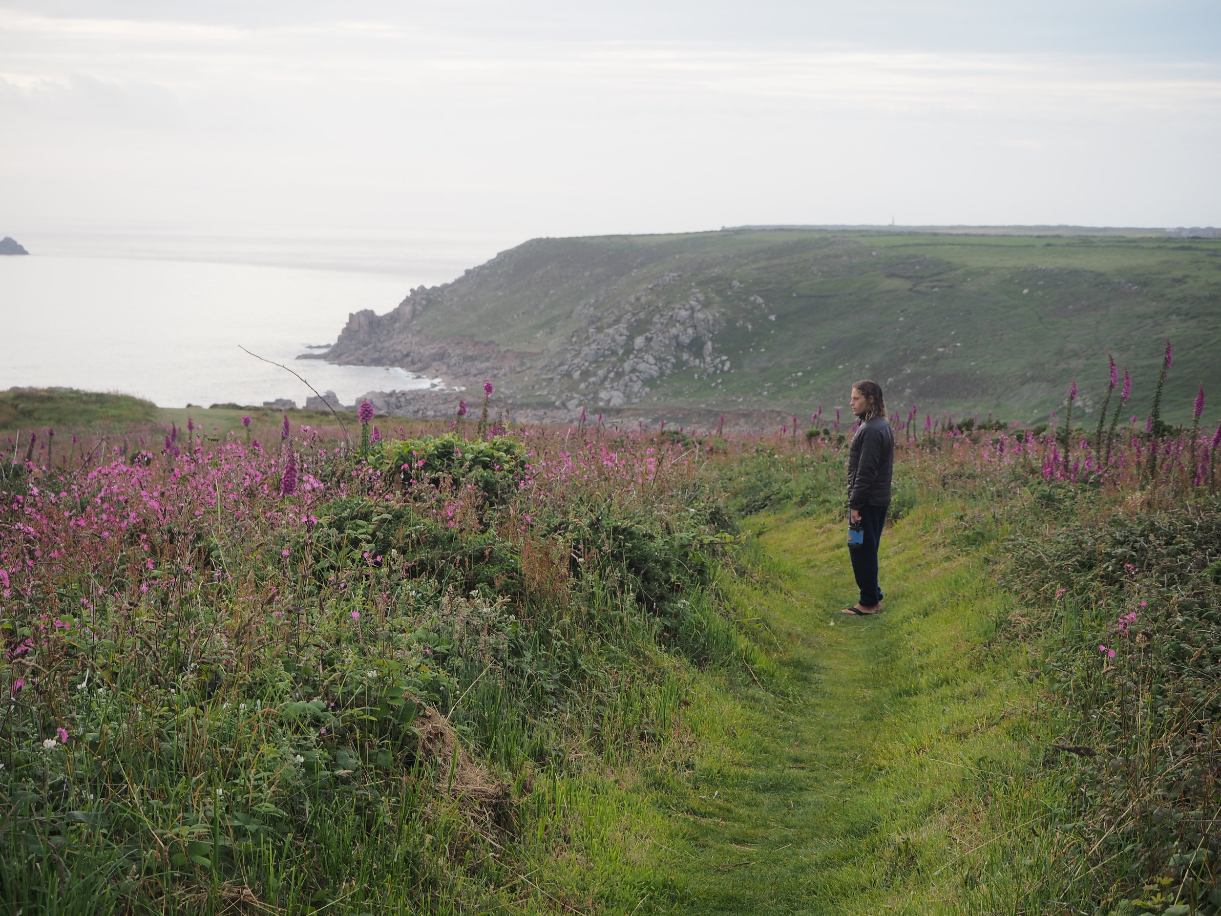 At home - Gwenver, Cornwall