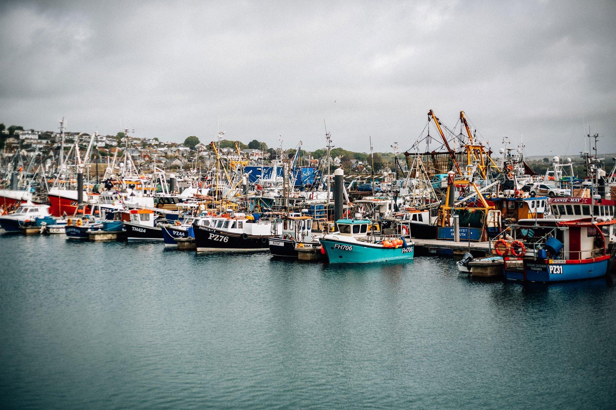 Pete-Geall-Boats-Bobbing-in-Newlyn-Harbour.jpg