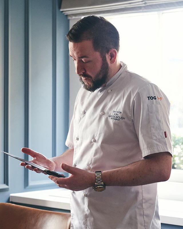 Huge thanks to @danmoonchef @thegainsboroughbathspa in Bath recently for supporting our upcoming @crowdcube campaign - watch this space for a chance to own a piece of TOG Knives!
