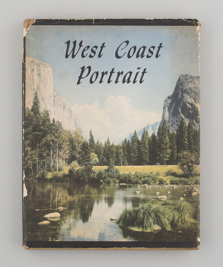 West Coast Portrait photography book, 1946, found in a London charity shop