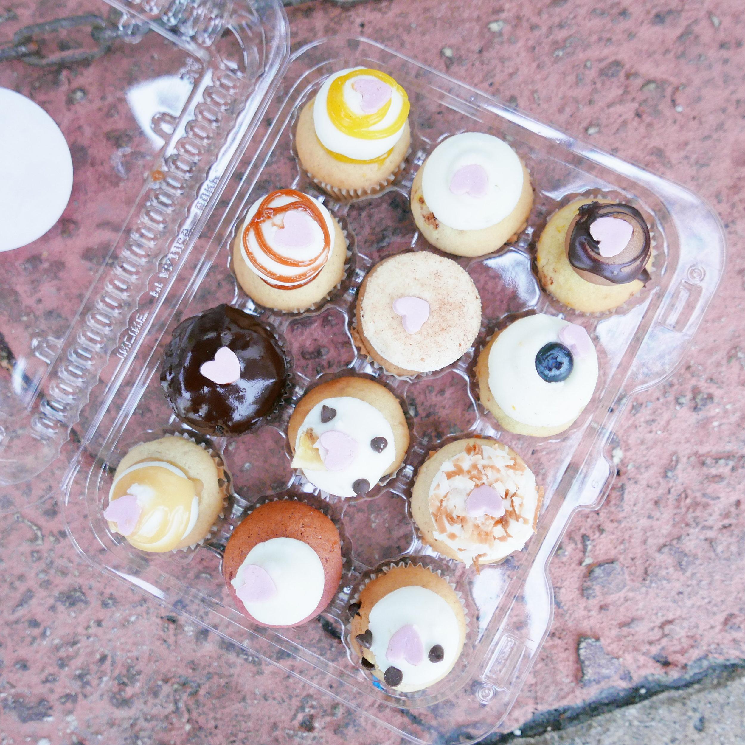 Mini cucpcakes