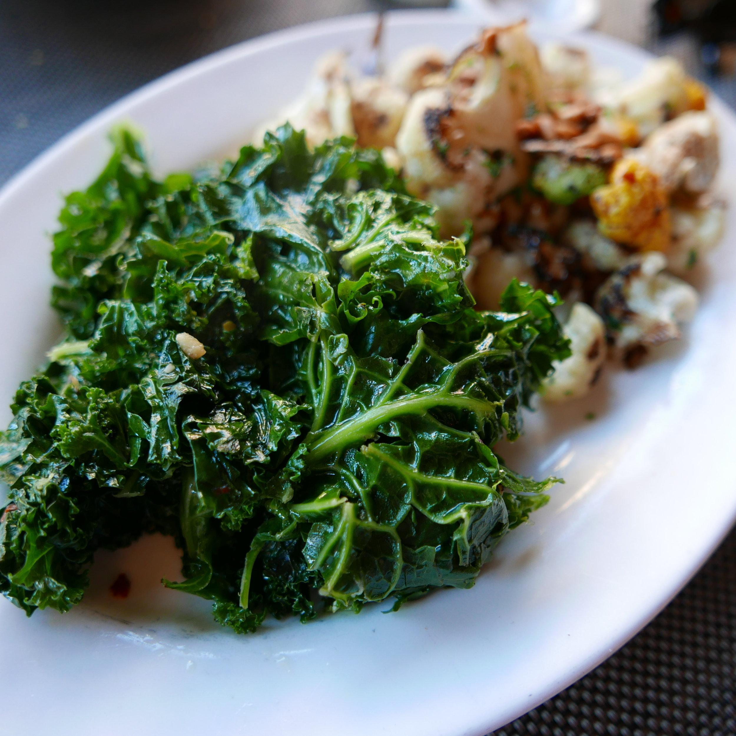 Vegetable Plate - Kale, Cauliflower
