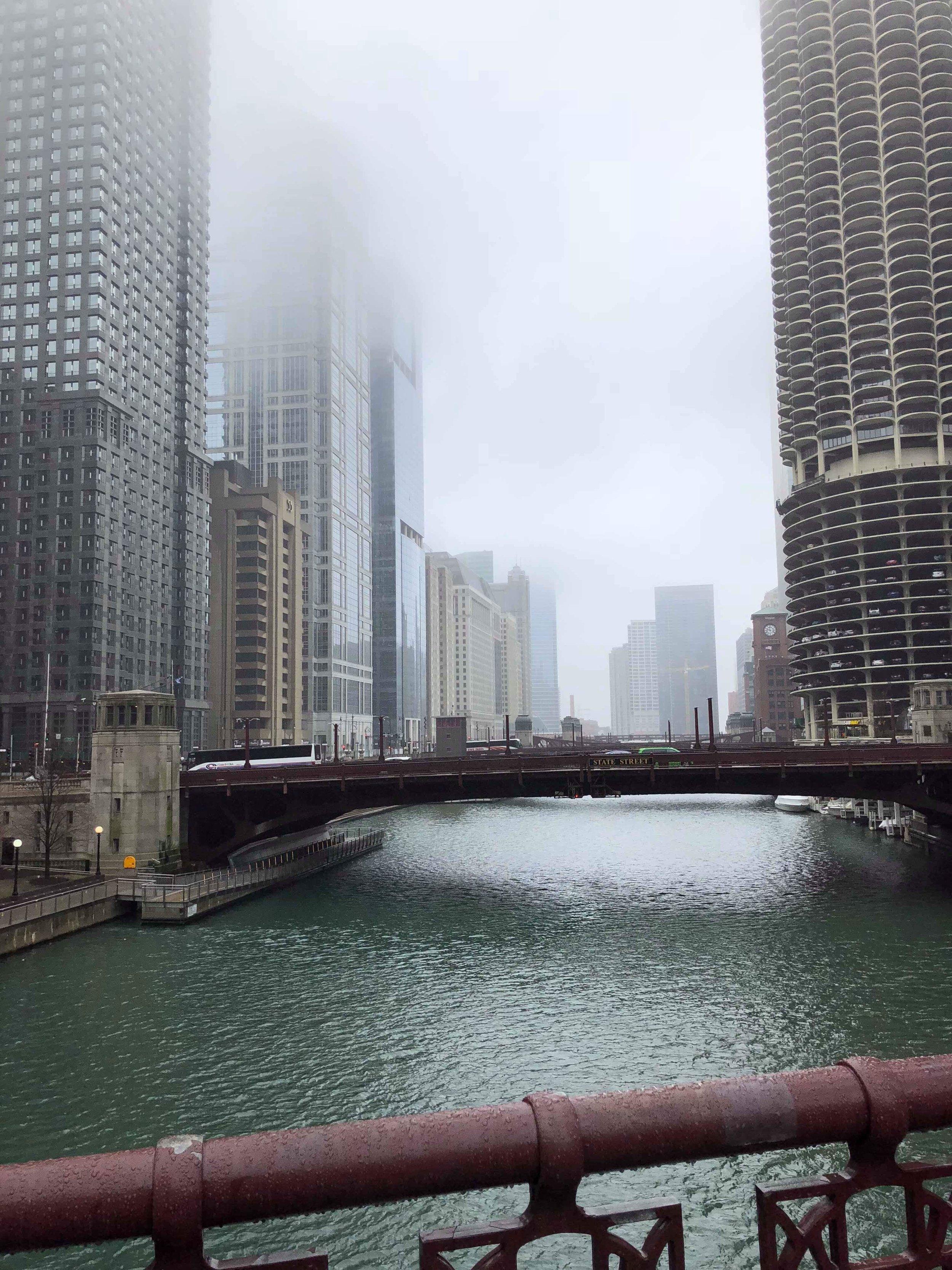 Rainy and foggy but beautiful!